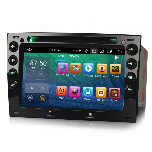 Navigatie auto, Pachet dedicat Renault Megane, 7 Inch,Android 10.0, Octa Core 2