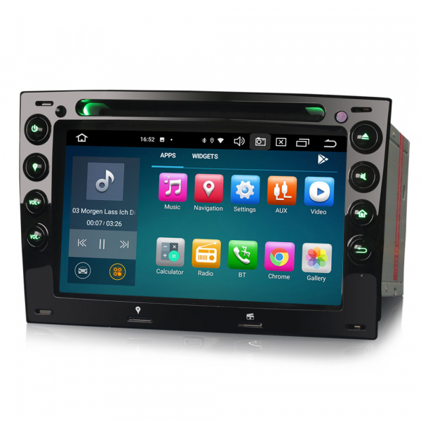 Navigatie auto, Pachet dedicat Renault Megane, 7 Inch,Android 10.0, Octa Core 4