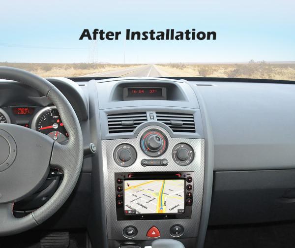 Navigatie auto, Pachet dedicat Renault Megane, 7 Inch,Android 10.0, Octa Core 7