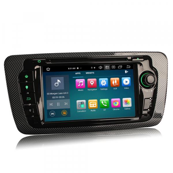 Navigatie auto, Pachet dedicat SEAT IBIZA, Android 10.0,7 inch, Octa Core 2