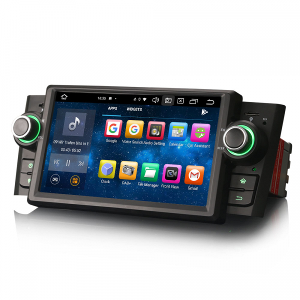 Navigatie auto, Pachet dedicat Fiat Punto Linea ,7 inch, Android 10.0, Octa Core [5]