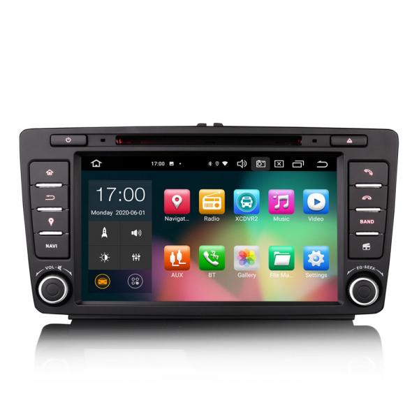 Navigatie auto dedicata SKODA OCTAVIA YETI RAPID SUPERB, 8 Inch, Android 10.0, Octa Core 0