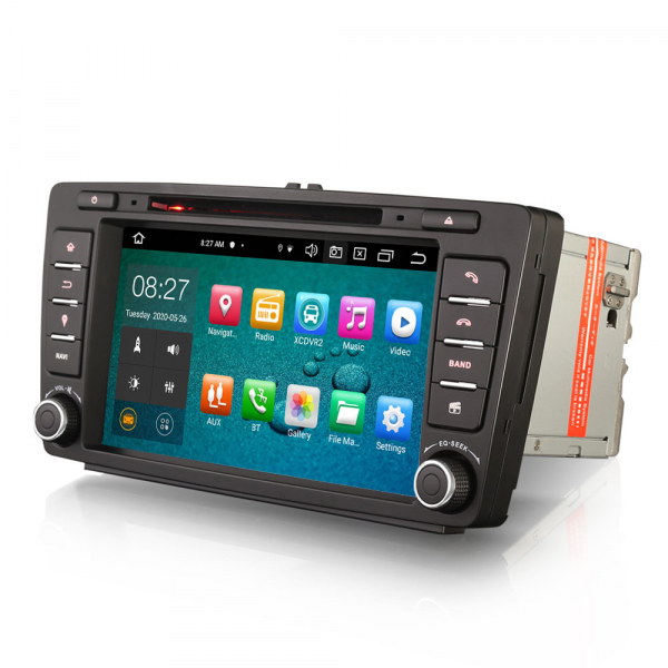 Navigatie auto dedicata SKODA OCTAVIA YETI RAPID SUPERB, 8 Inch, Android 10.0, Octa Core 5