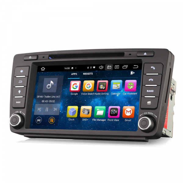 Navigatie auto dedicata SKODA OCTAVIA YETI RAPID SUPERB, 8 Inch, Android 10.0, Octa Core 4