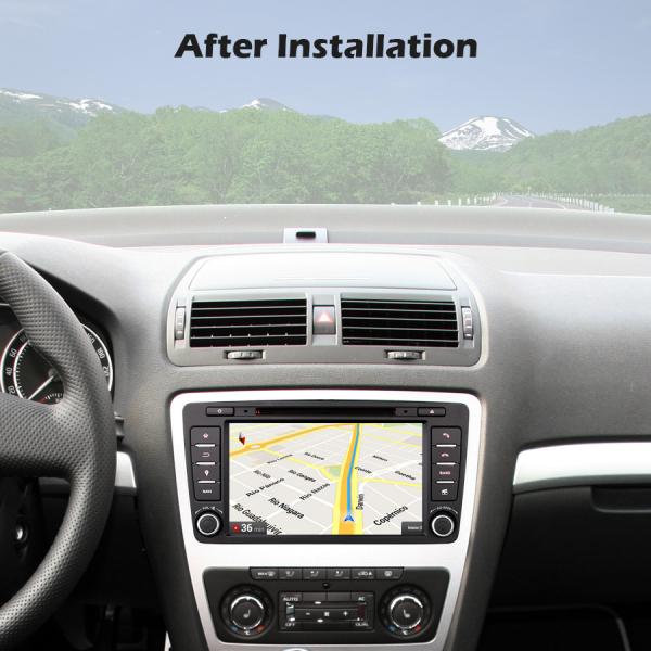 Navigatie auto dedicata SKODA OCTAVIA YETI RAPID SUPERB, 8 Inch, Android 10.0, Octa Core 8