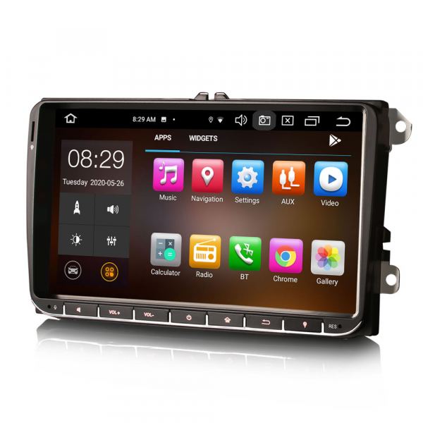 Navigatie auto, Pachet dedicat VW Passat Seat Skoda, 9 Inch, Android 10.0, Octa Core [4]