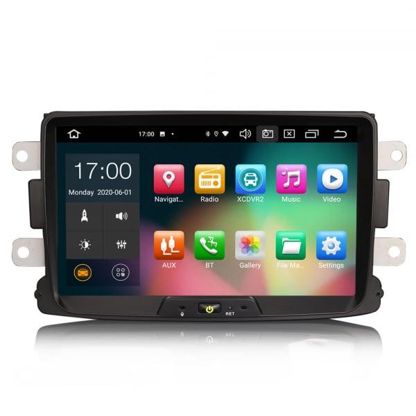 Navigatie auto, Pachet dedicat Renault Dacia Duster Logan Sandero Dokker, 8 Inch, Android 10.0, Octa Core [0]