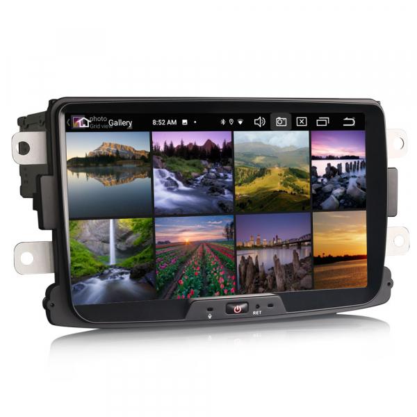 Navigatie auto, Pachet dedicat Renault Dacia Duster Logan Sandero Dokker, 8 Inch, Android 10.0, Octa Core [2]