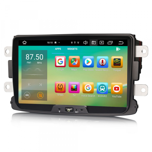 Navigatie auto, Pachet dedicat Renault Dacia Duster Logan Sandero Dokker, 8 Inch, Android 10.0, Octa Core 3