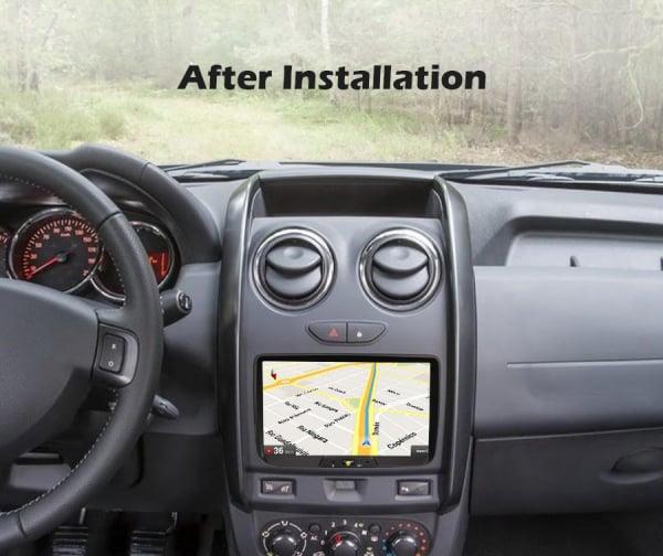 Navigatie auto, Pachet dedicat Renault Dacia Duster Logan Sandero Dokker, 8 Inch, Android 10.0, Octa Core 9