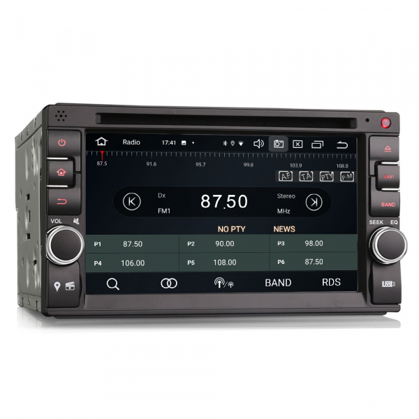 Navigatie auto universala 2DIN, 6.2 inch, Android 10.0, Octa Core 6
