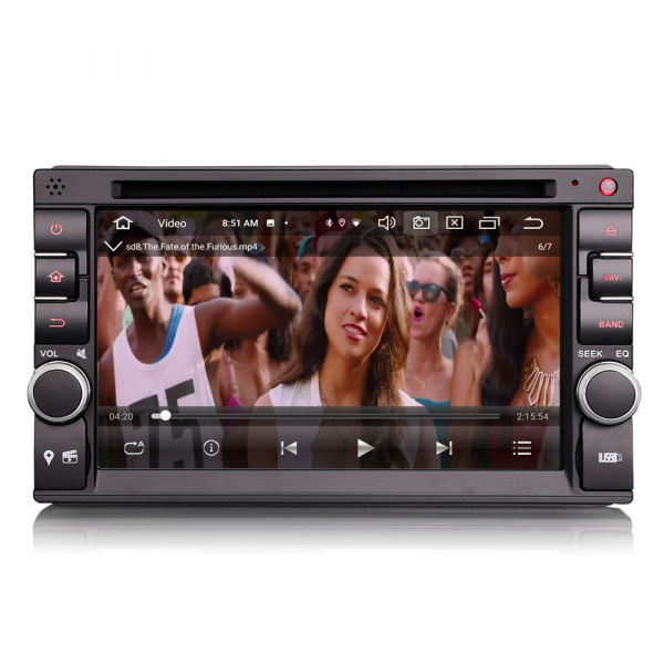 Navigatie auto universala 2DIN, 6.2 inch, Android 10.0, Octa Core 7