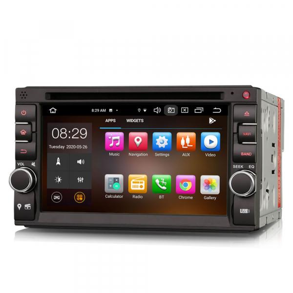 Navigatie auto universala 2DIN, 6.2 inch, Android 10.0, Octa Core 1