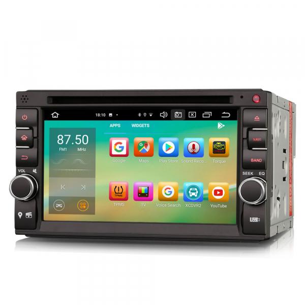 Navigatie auto universala 2DIN, 6.2 inch, Android 10.0, Octa Core 2
