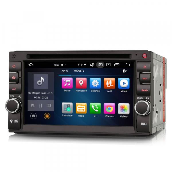 Navigatie auto universala 2DIN, 6.2 inch, Android 10.0, Octa Core 4