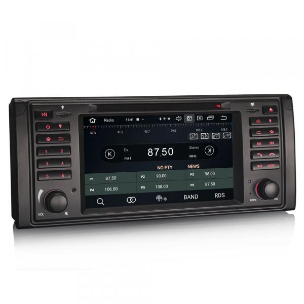 Navigatie auto, Pachet dedicat BMW E39 E53 Range Rover L322, Android 10.0, 7 Inch, Octa Core [7]