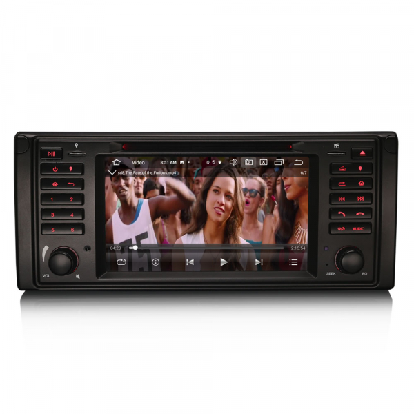 Navigatie auto, Pachet dedicat BMW E39 E53 Range Rover L322, Android 10.0, 7 Inch, Octa Core [8]