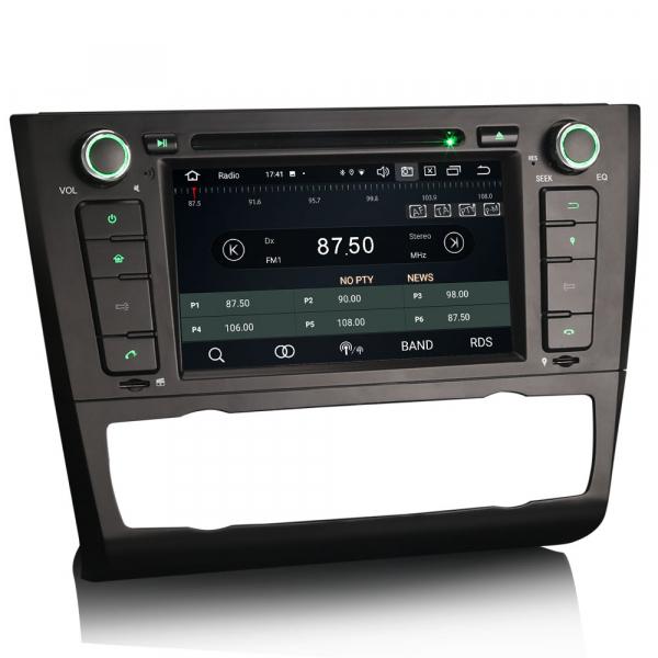 Navigatie auto, Pachet dedicat BMW Seria 1 E81 Hatchback E82 E88, Android 10.0, 7 Inch, Octa Core [6]