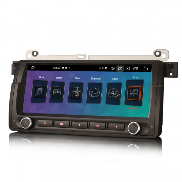 Navigatie auto, Pachet dedicat BMW E46 M3, Android 10.0, 8.8 Inch, Octa Core 1