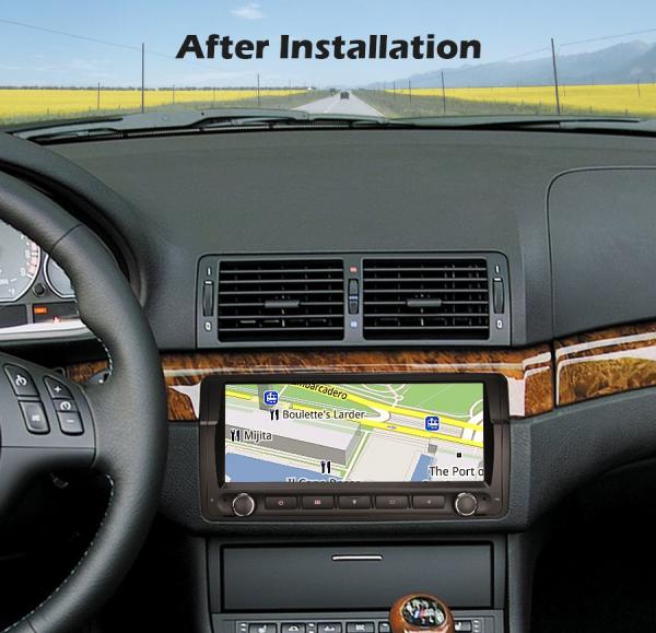 Navigatie auto, Pachet dedicat BMW E46 M3, Android 10.0, 8.8 Inch, Octa Core 8