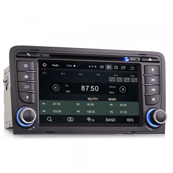 Navigatie auto, Pachet dedicat Audi A3 S3, 7 inch, Android 10, Octa Core 6