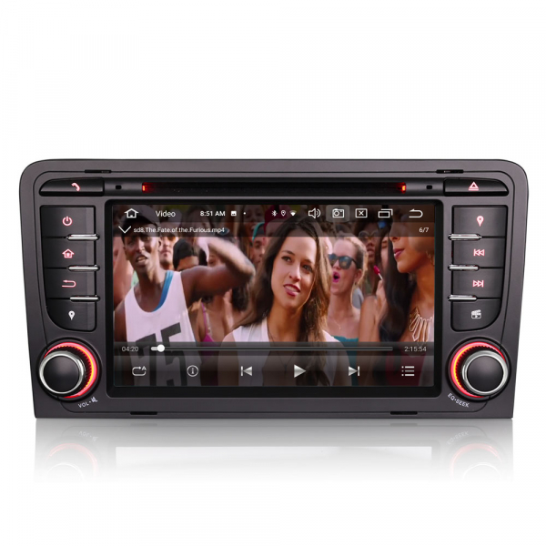 Navigatie auto, Pachet dedicat Audi A3 S3, 7 inch, Android 10, Octa Core 7
