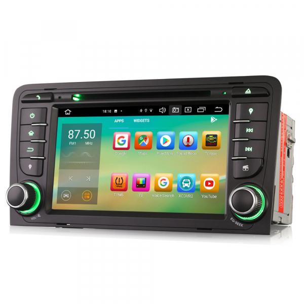 Navigatie auto, Pachet dedicat Audi A3 S3, 7 inch, Android 10, Octa Core 2