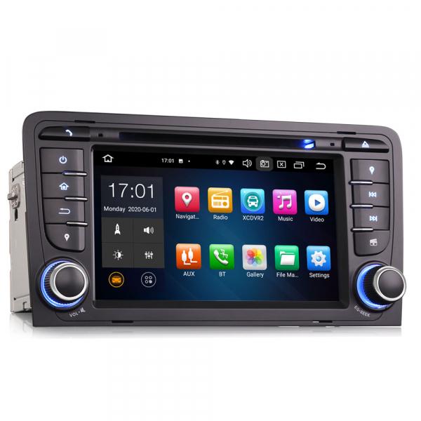 Navigatie auto, Pachet dedicat Audi A3 S3, 7 inch, Android 10, Octa Core 3