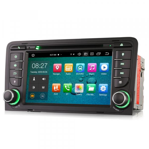 Navigatie auto, Pachet dedicat Audi A3 S3, 7 inch, Android 10, Octa Core 4
