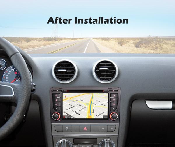 Navigatie auto, Pachet dedicat Audi A3 S3, 7 inch, Android 10, Octa Core 8