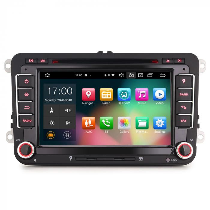 "Navigatie auto dedicata VW Golf Jetta Passat Seat Skoda ,7"" , Android 10.0, Octa Core [0]"
