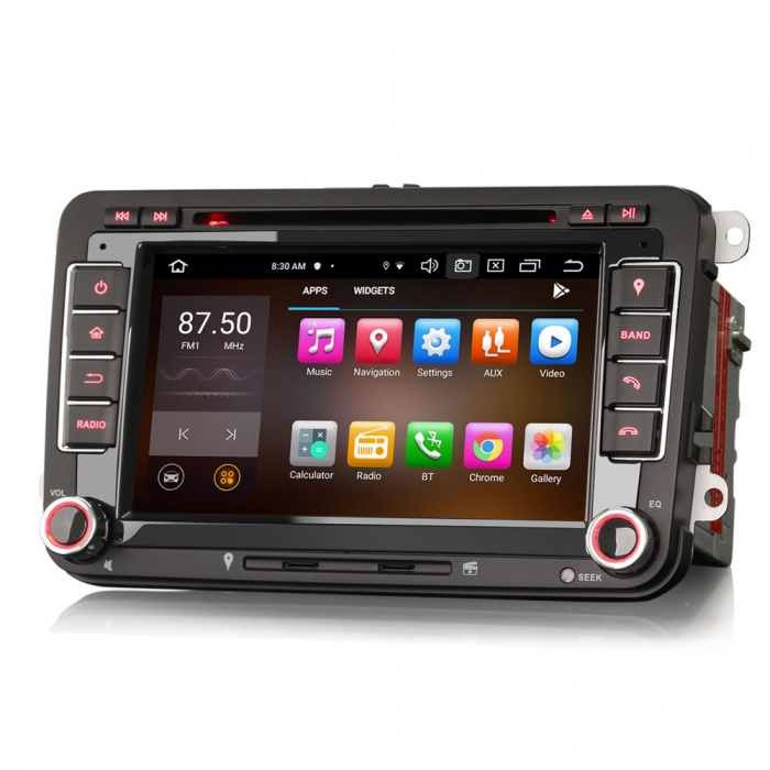 "Navigatie auto dedicata VW Golf Jetta Passat Seat Skoda ,7"" , Android 10.0, Octa Core [5]"