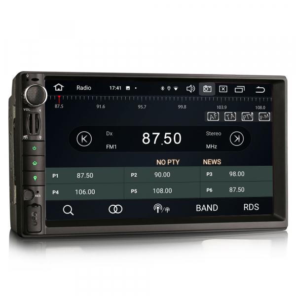 Navigatie auto universala 2DIN, 7 inch, Android 10.0, Octa Core [6]