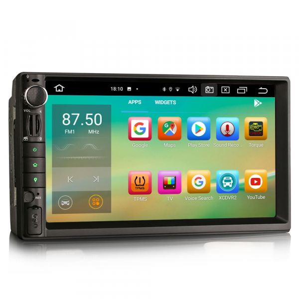 Navigatie auto universala 2DIN, 7 inch, Android 10.0, Octa Core [3]