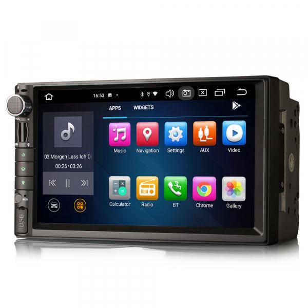Navigatie auto universala 2DIN, 7 inch, Android 10.0, Octa Core [4]