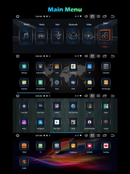 Navigatie auto, Pachet dedicat BMW E53 E39 M5, 10.25 Inch, Android 10.0, Octa Core [9]