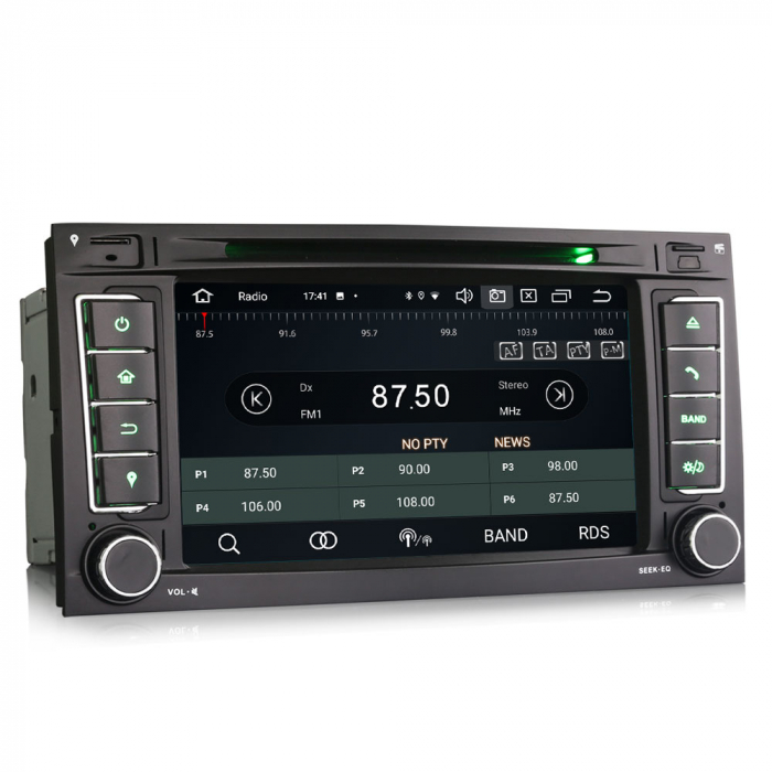 Navigatie auto 2 din, Pachet dedicat VW T5 Multivan TOUAREG, Android 10, 7 Inch, Octa Core [4]
