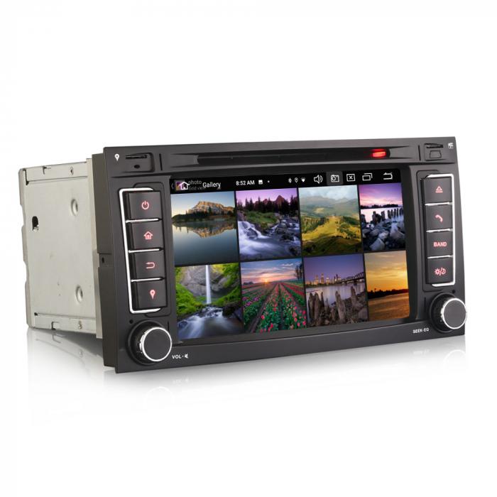 Navigatie auto 2 din, Pachet dedicat VW T5 Multivan TOUAREG, Android 10, 7 Inch, Octa Core [2]