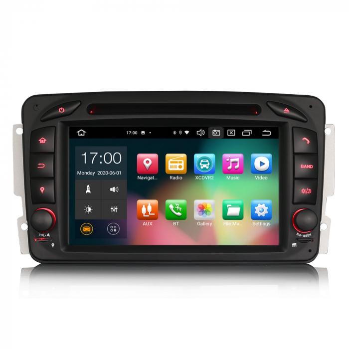Navigatie auto 2 din, Pachet dedicat Mercedes  Benz CLK W209, Android 10, Octa Core 0
