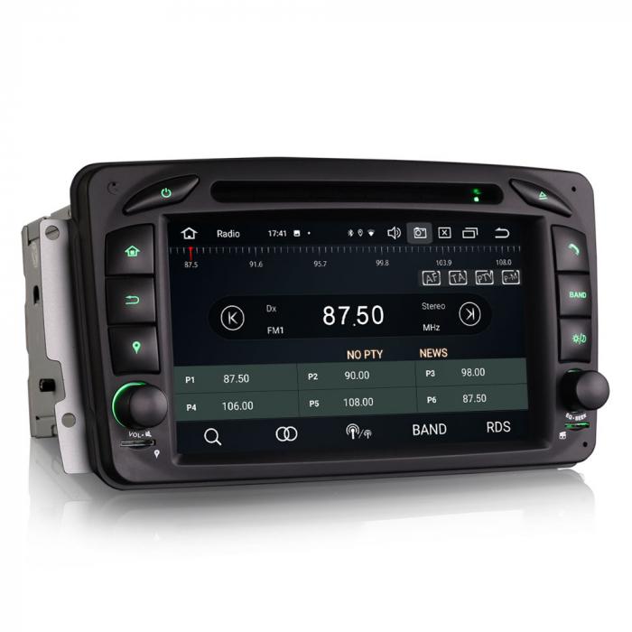 Navigatie auto 2 din, Pachet dedicat Mercedes  Benz CLK W209, Android 10, Octa Core 5