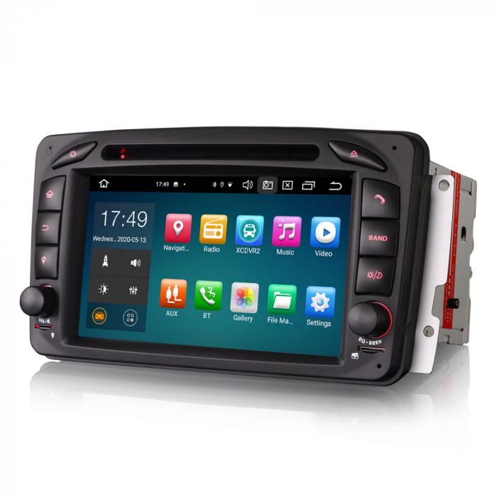 Navigatie auto 2 din, Pachet dedicat Mercedes  Benz CLK W209, Android 10, Octa Core 1