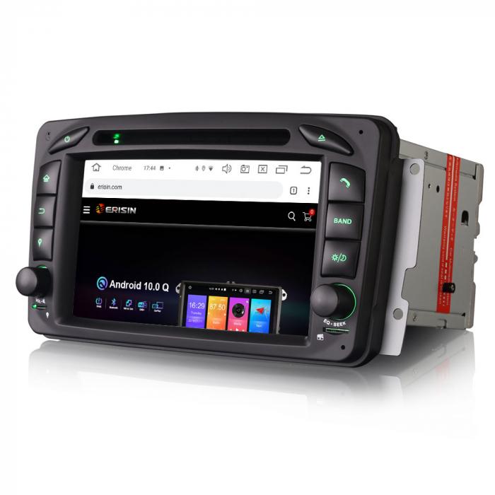 Navigatie auto 2 din, Pachet dedicat Mercedes  Benz CLK W209, Android 10, Octa Core 2