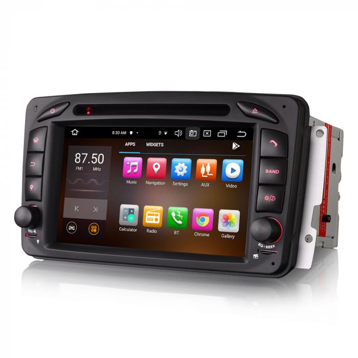 Navigatie auto 2 din, Pachet dedicat Mercedes  Benz CLK W209, Android 10, Octa Core 3