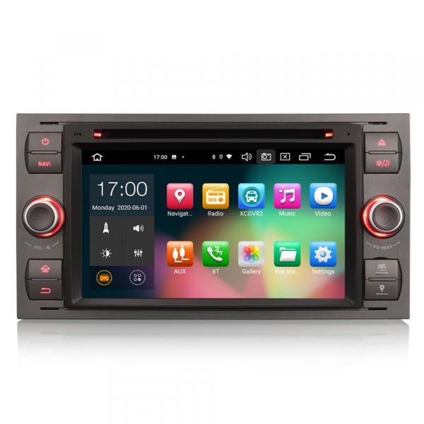 Navigatie auto 2 din, Pachet dedicat Ford Fusion Kuga Mondeo Fiesta, 7 Inch, Android 10.0, Octa Core 0