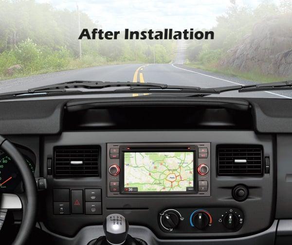 Navigatie auto 2 din, Pachet dedicat Ford Fusion Kuga Mondeo Fiesta, 7 Inch, Android 10.0, Octa Core 9