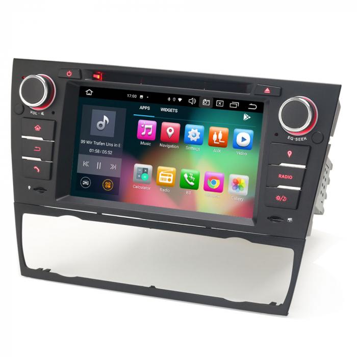 Navigatie auto, Pachet dedicat BMW M3 E90 E92 E93 ,7 inch, Android 10, Octa Cores [6]