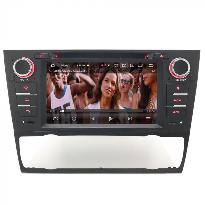 Navigatie auto, Pachet dedicat BMW M3 E90 E92 E93 ,7 inch, Android 10, Octa Cores [7]