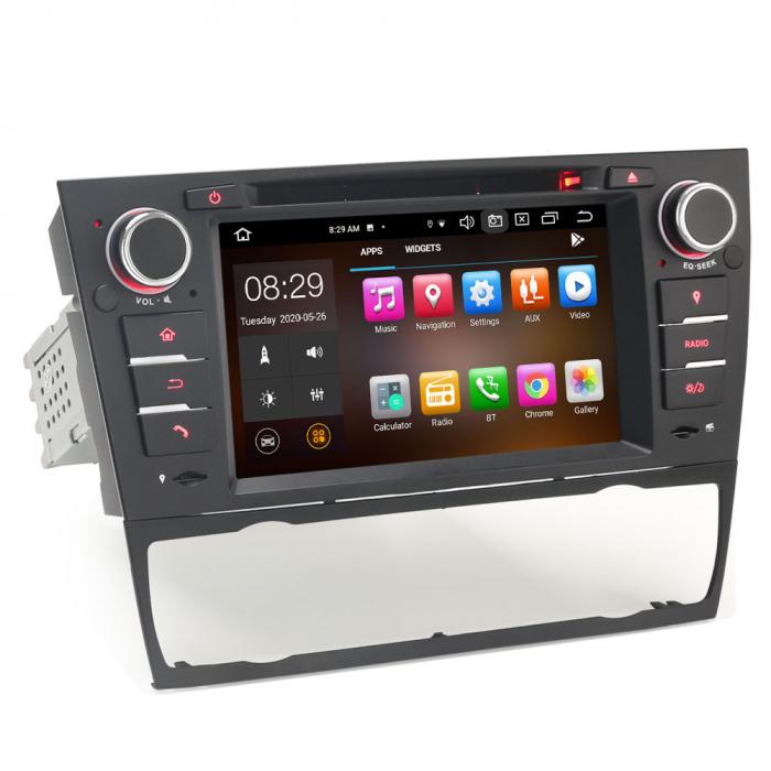 Navigatie auto, Pachet dedicat BMW M3 E90 E92 E93 ,7 inch, Android 10, Octa Cores [8]