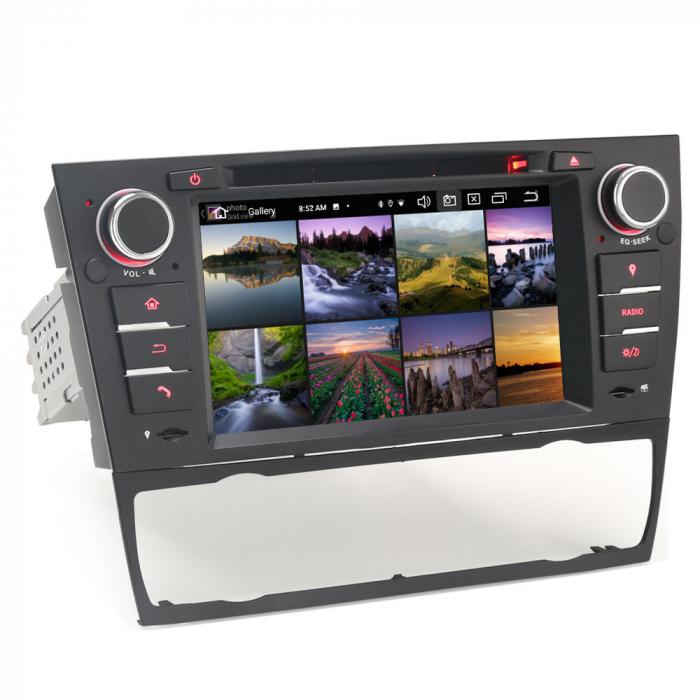Navigatie auto, Pachet dedicat BMW M3 E90 E92 E93 ,7 inch, Android 10, Octa Cores [2]
