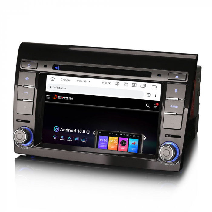 Navigatie auto, Pachet dedicat  FIAT BRAVO 2007, Android 10, 7 inch Octa Core 2